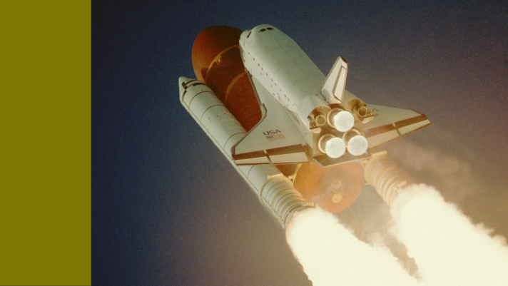 Space shuttle lift off by NASA Imagery